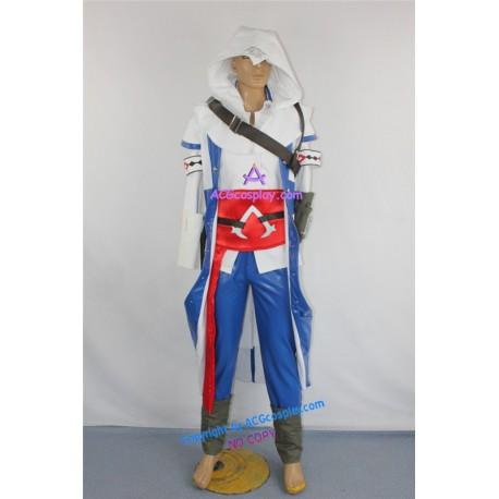 Asssassin's Creed III Ratonhnhakton Connor Kenway Cosplay Costume