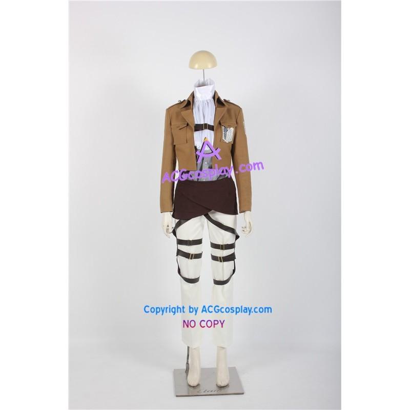 Attack on Titan Captain Levi Cosplay Costume