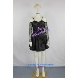 Death Note Misa Amane Cosplay Costume faux leather made