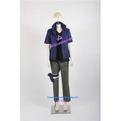 Naruto Team 7 (Team Kakashi)  Sasuke Uchiha Cosplay Costume