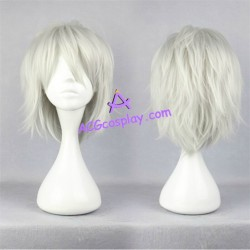DRAMAtical Murder DMMD Clear cosplay wig short wig silver grey color