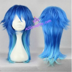 DRAMAtical Murder DMMD Seragaki Aoba cosplay wig 60cm 24inches mixed color