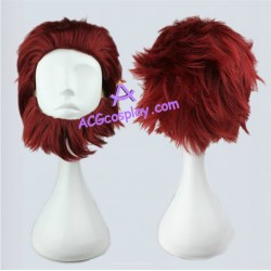 Fate zero rider cosplay wig with beard cosplay wig