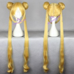 Sailor Moon Serena Tsukino cosplay wig 100cm 39inches
