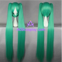 Volcaloid Hatsune Miku cosplay wig 130cm 51inches onion green