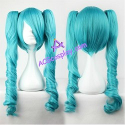 Vocaloid miku cosplay wig 65cm 26inches