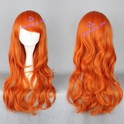 One piece Nami cosplay wig two years later 60cm 24inches