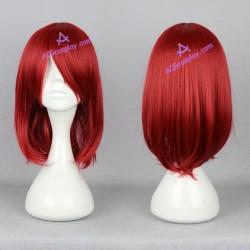 Black Butler kuroshitsuji Madam Red cosplay wig dark red short wig