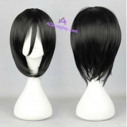 World Trigger cosplay wig short wig black wig acgcosplay