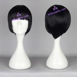 Kyoukai no Kanata Nase Hiroomi cosplay wig navy blue short wig