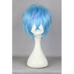 Karneval KAROKU cosplay wig blue short wig acgcosplay