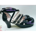 Lolita shoes boots black make to order style 7