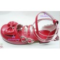 Lolita shoes boots red make to order style 4