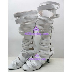 Lolita shoes boots white make to order style 11