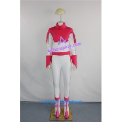 Gundam Seed Lacus Clyne Pink White Bodysuit Plugsuit cosplay costume