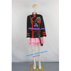 D.Gray-man Lenalee Lee pink skirt Cosplay Costume