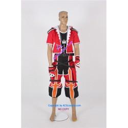 Kingdom Hearts II Sora Valor Form Cosplay Costume