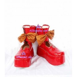 Macross Fronier Ranka Lee cosplay shoes boots