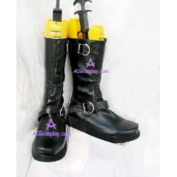 NANA Tall Black Gothic Boots PUNK ROCK Cosplay shoes