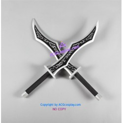 League of Legends Katarina's Swords prop cosplay prop pvc made