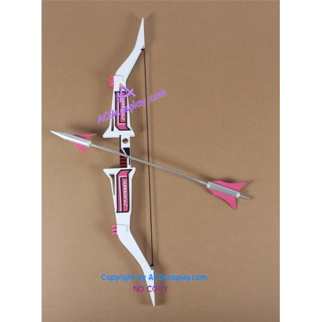 mighty morphin power rangers the pink ranger bow and arrow prop pvc