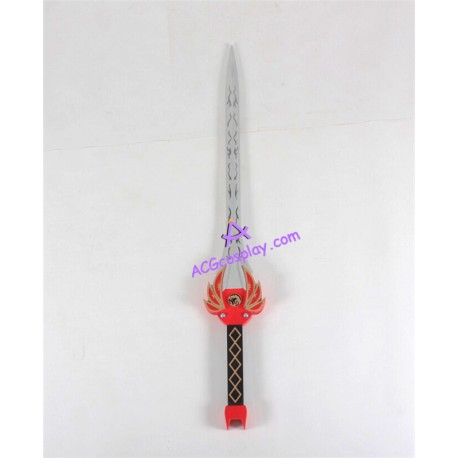 Mighty Morphin Power Rangers The Red Ranger sword prop pvc made cosplay prop