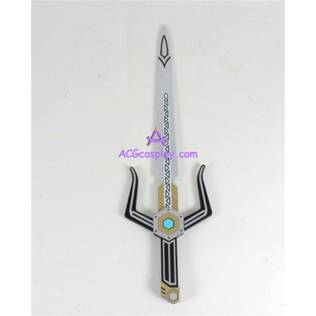 power rangers lost galaxy magna defender sword prop pvc