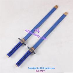 Tales of Innocence Spada Belforma Double Swords twin sword prop Cosplay Prop pvc made