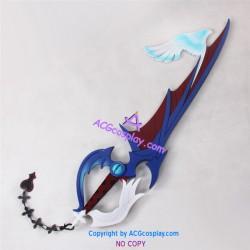 Kingdom Hearts Riku's The way to Dawn Keyblade prop Cosplay Prop pvc made