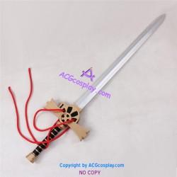 Seraph of the End/Owari no Serafu Mikaela Hyakuya The night's micah Sword prop cosplay prop pvc made