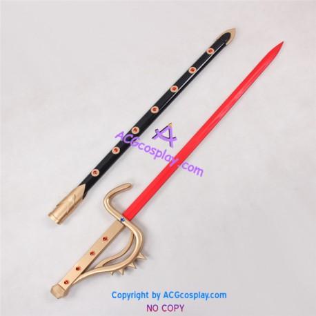Kamen Rider Black Shadow Moon Sword with Sheath prop Cosplay Prop pvc made