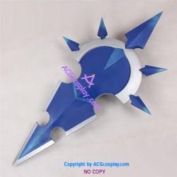Kingdom Hearts XIII Vexen's Weapon prop Cosplay Prop pvc made