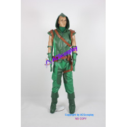 DC Comic Green Arrow Cosplay Costume