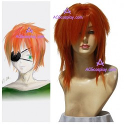 D.Gray-man Ravi.Bookman.Jr  Cosplay Wig