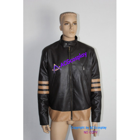 X-Men The Wolverine Rogan Jacket Pleather made Cosplay costume