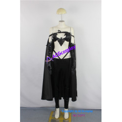 Marvel X-men The Wolverine Dark Phoenix Black Queen Cosplay Costume