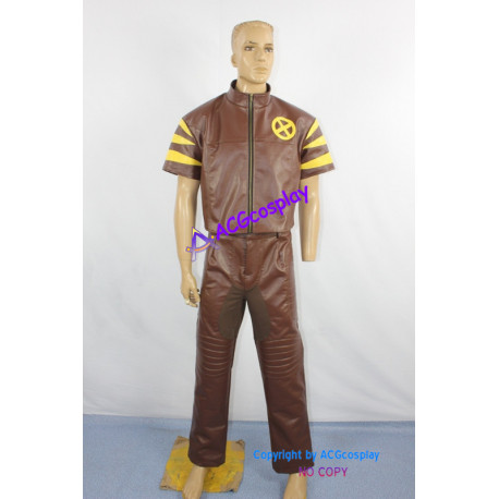 Marvel X-men The Wolverine Beast Cosplay Costume Pleather made