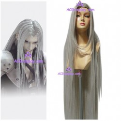 Final Fantasy 7 Advent Children Sephiroth cosplay wig