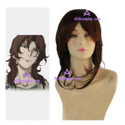 Gundam Lockon Stratos Cosplay Wig