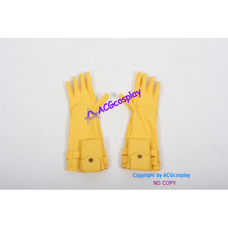 Marvel Comics Cosplay Prop Captain America Gloves yellow gloves