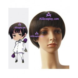 Axis powers Hetalia Kiku Honda Cosplay Wig