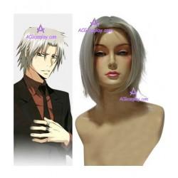 Hitman Reborn Hayato Gokudera Cosplay Wig