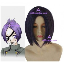 Katekyo Hitman Reborn! Home Tuito Dokuro Chrome Cosplay Wig