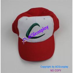 Pokemon Ash Ketchum Cosplay cap