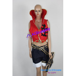 One Piece Monkey D. Luffy Cosplay Costume include functional bag