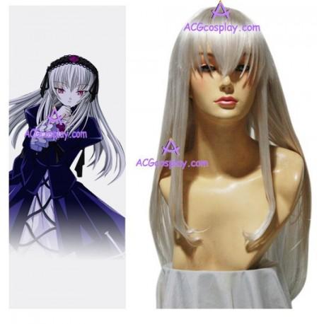 Rozen Maiden Suigintou Mercury lamp cosplay wig
