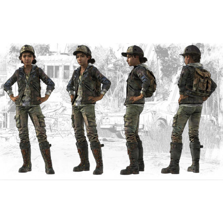 The Walking Dead (Telltale Games) Clementine cosplay costume