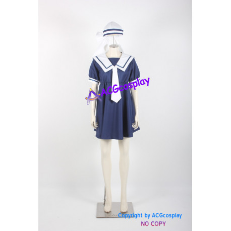 Clannad Ushio Okazaki Cosplay Costume girl dress ACGcosplay anime costume