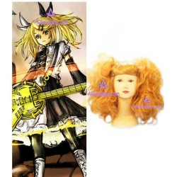 Vocaloid Kagamine Rin 50cm Curly Cosplay Wig