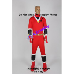 Power rangers Aurico red aquitian ranger kaku ranger red ranger cosplay costume
